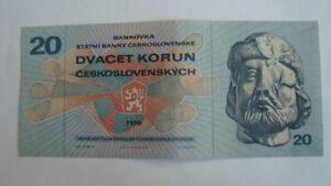 20 koron-Czechosłowacja,UNC - Rzeszów, Polska - 20 koron-Czechosłowacja,UNC - Rzeszów, Polska