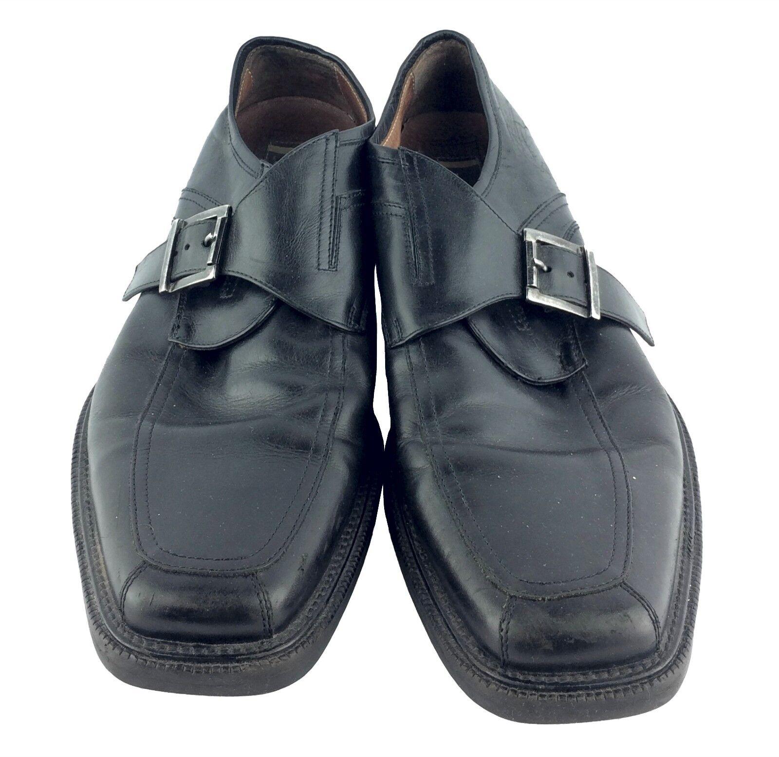 acquistare ora Johnston Johnston Johnston & Murphy nero Monk Buckle Dress scarpe Uomo Dimensione 13M  centro commerciale online integrato professionale