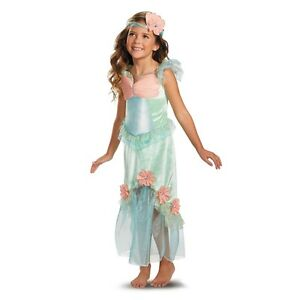 Precious-Mystical-Mermaid-Princess-Aqua-Coral-Polyester-Dress-Headpiece-Disguise