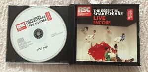 The-Essential-Shakespeare-Live-Encore-The-Royal-Shakespeare-Company-Free-P-amp-P