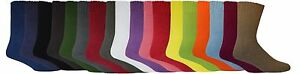 BAMBOO TEXTILES EXTRA THICK 92% BAMBOO WORK SOCKS ALL SIZES ALL COLOURS UNISEX