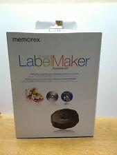 Memorex Cd Amp Dvd Labelmaker Essentials Kit System Label Maker Sealed