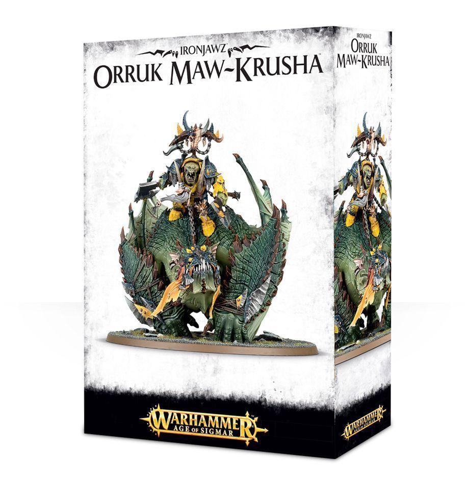 Orruk Maw-Krusha ironjawz Warhammer edad de Sigmar Nuevo En Caja