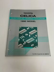 image is loading 1990-toyota-celica-electrical-wiring-diagram-usan-amp-