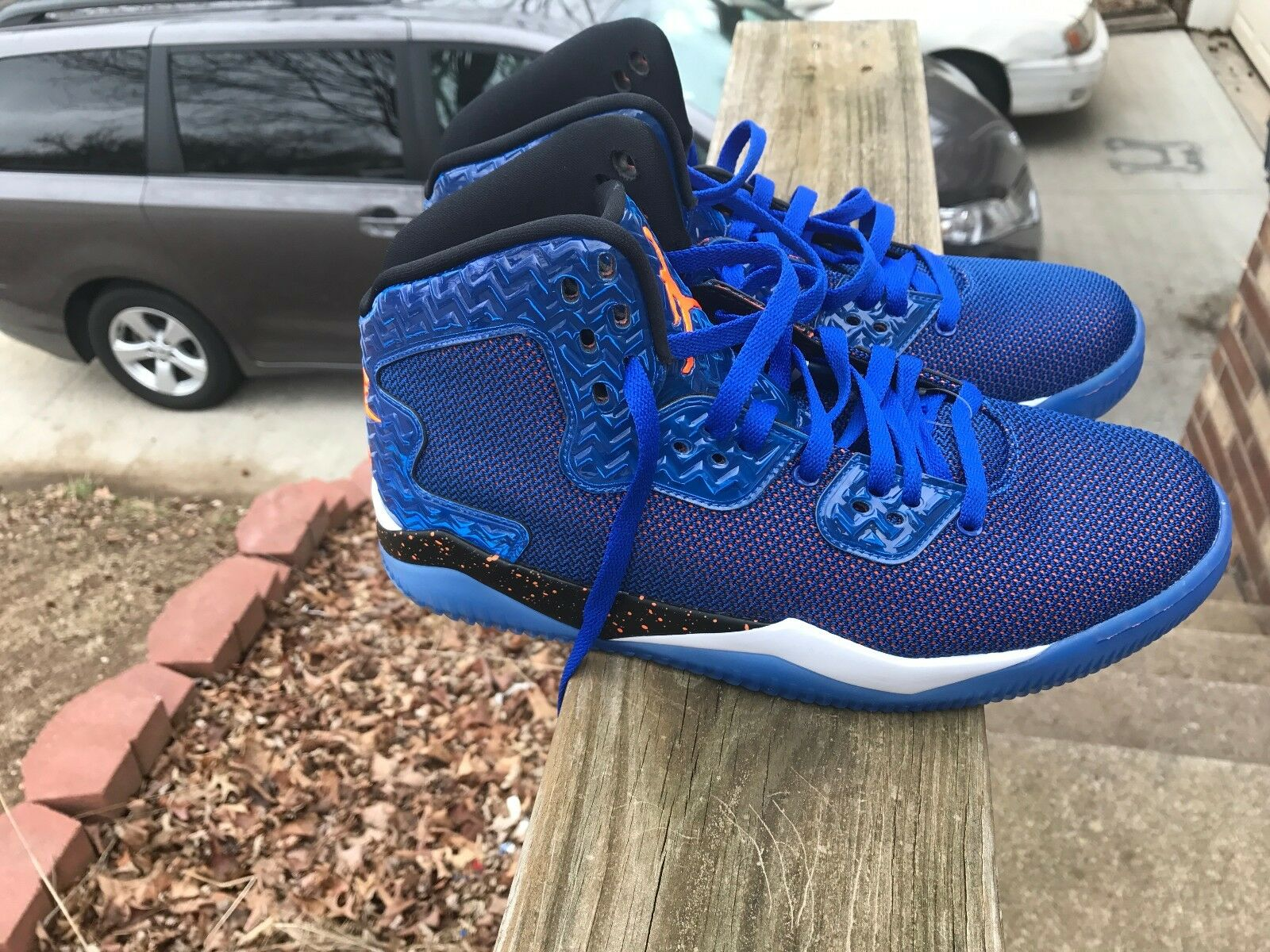 Nike Men Air Jordan Spike Forty 40 PE Game Royal 807541 405 Blue Orange SIZE 9.5 Seasonal price cuts, discount benefits