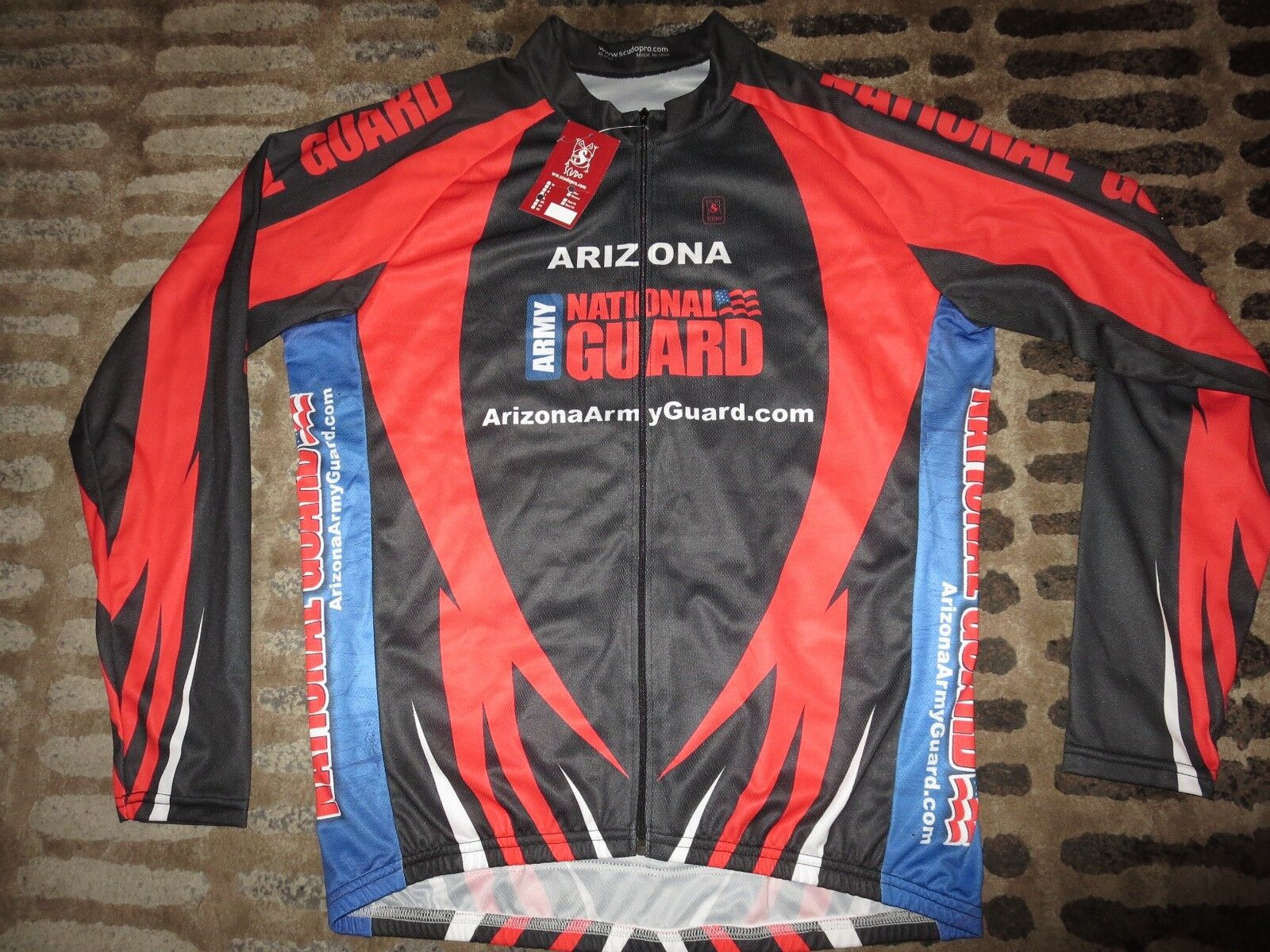 US Army National Guard Arizona Cycling Team  Scudo Jersey XL mens NEW  at the lowest price