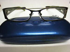 Phoebe Couture Eyeglass Frames P265 BROWN 52-16-135 With Case ... 8816695d7