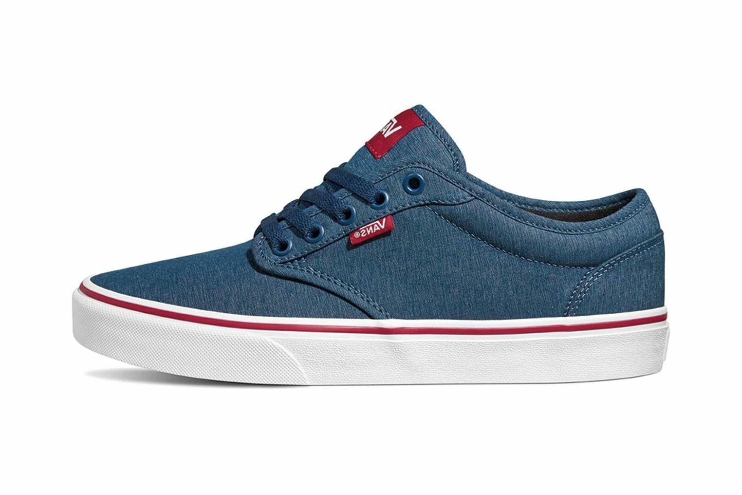 VANS MN Atwood (Varsity (Varsity (Varsity Textile) Sailor Sneaker in Übergrößen blue VN0A45J9VEL g d2cfaa