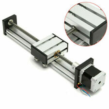 Cnc Linear Actuator Stage Lead Screw Slide Rail Guide42 Stepper Motor 400mm