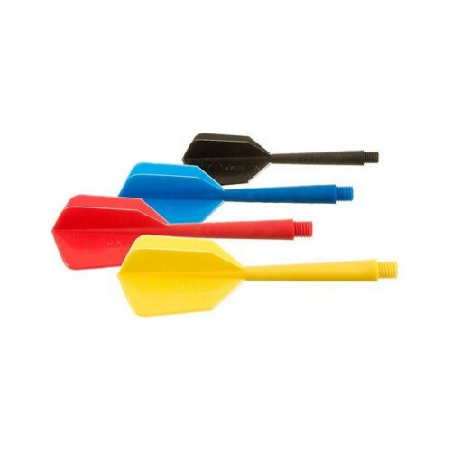 12 Plastic Soft Tip Brass Dart Set 4 sets 15 extra tips BLUE RED YELLOW BLACK :