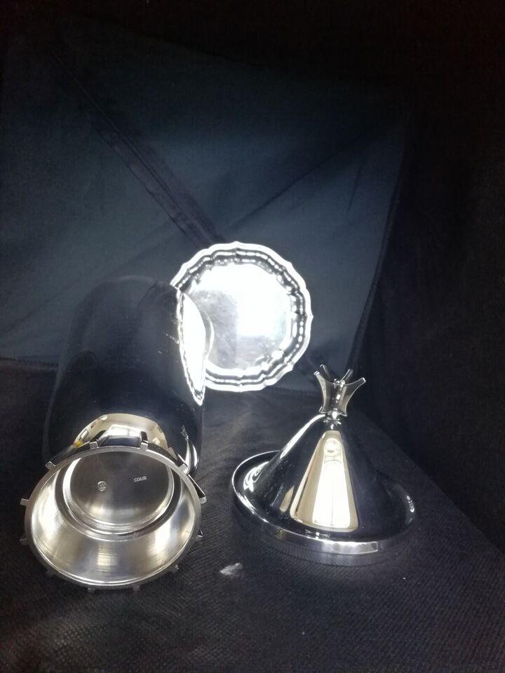 Sølvtøj, Cohr lågpokal, vase