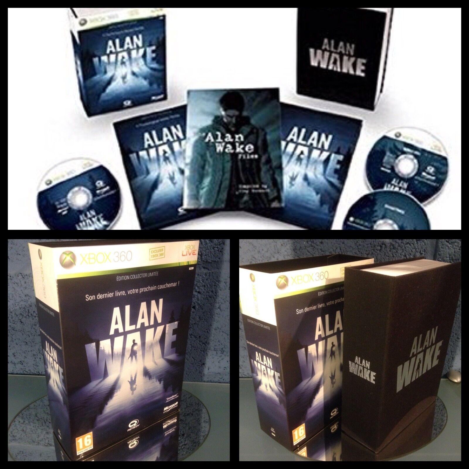 Alan wake.Collector. Edition limitée.Pal.Xbox 360.