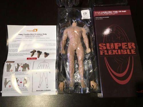 TBLeague 1/6 Super-Flexible Male Seamless Muscular Body Steel Skeleton M30