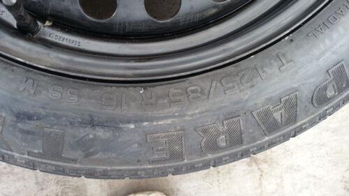 """GENIUINE Ford Galaxy 2007-2017 espacio Saver 16/"""" Rueda De Repuesto /& Neumático Y Kit De Jack"""