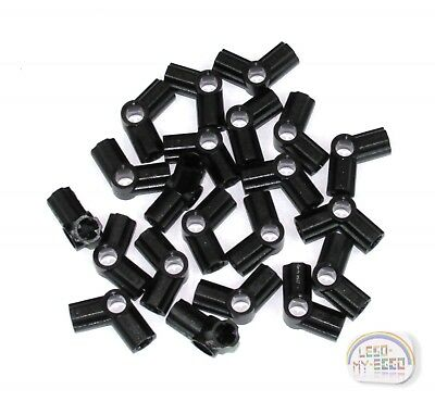 Type number 5 Lego 10 x Technic Axle /& Pin Angle Connector Black #5