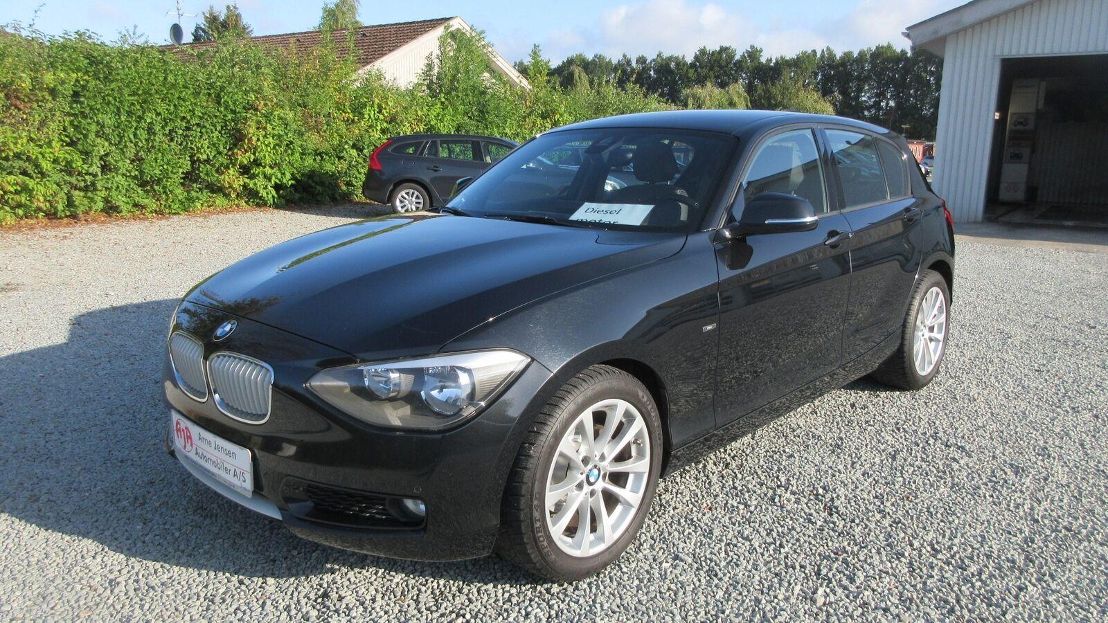 BMW 116d 2,0  5d - 160.000 kr.