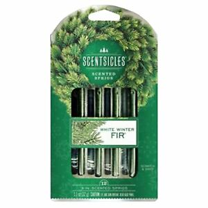 12-x-Christmas-Tree-Smell-Scented-Stick-Home-Frangrance-White-Winter-Fir