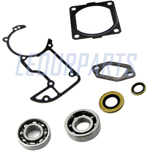 Crankcase muffler cylinder gasket oil seal bearing 4 STIHL 066 MS660 chainsaw