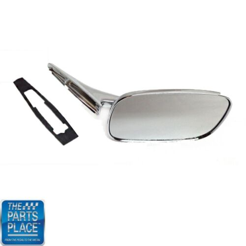1968-74 Chevy Cars Outside Rectangular Chrome Mirror Right Hand