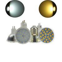 E27/GU10/MR16 5W 7W LED Bulb Spot light SMD Lamp Cover 110V/220V/12V Warm/White