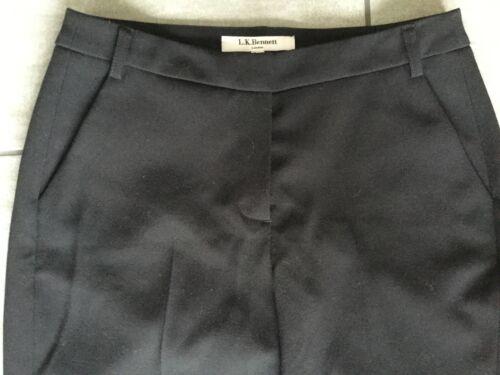 Tr Bnwt Black 8 Taille Ladies Uk £ L bennett Rrp Texas k Trousers 145 wq44vTIt