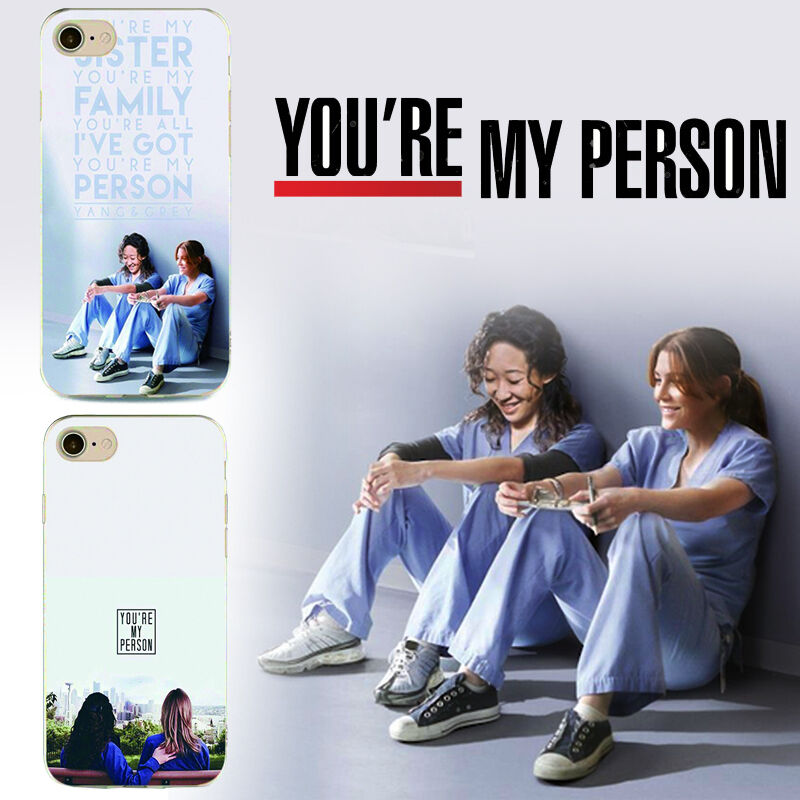 Details About Greys Anatomy My Person Phrase Cristina Yang Meredith Grey Iphone Case