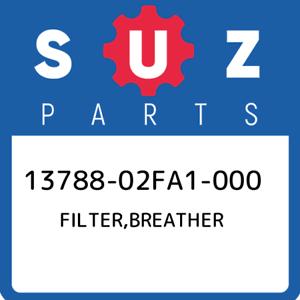 13788-02FA1-000 Suzuki Filter,breather 1378802FA1000 New Genuine OEM Part