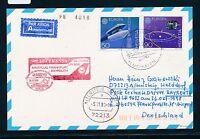 67481) LH / AA  FF Frankfurt - Bayreuth 26.10.98 DASH 8, Karte ab Schweiz space