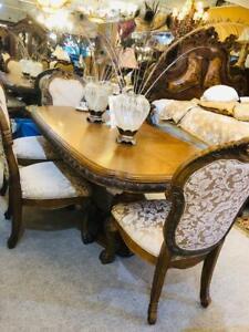 Eden Paradisio Dining Set, Aico Dining Room Chairs