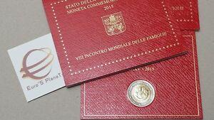 2-euro-VATICAN-2015-Vaticano-Vatikan-8-VIII-Familles-Philadelphia-family-familie