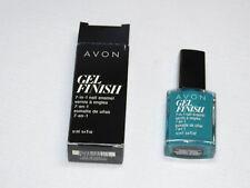 Avon Gel Finish 7-in-1 Nail Enamel Teal 12 ml 0.4 fl oz nail polish mani pedi;;