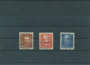 Suisse-Suisse-Vintage-1932-Mi-259-261-Timbres-Used-Plus-Sh-Boutique