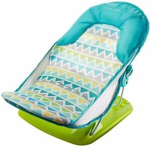 Details about Baby Bather Seat Chair Tub Summer Support Newborn Recline Sink Bath Shower Stand