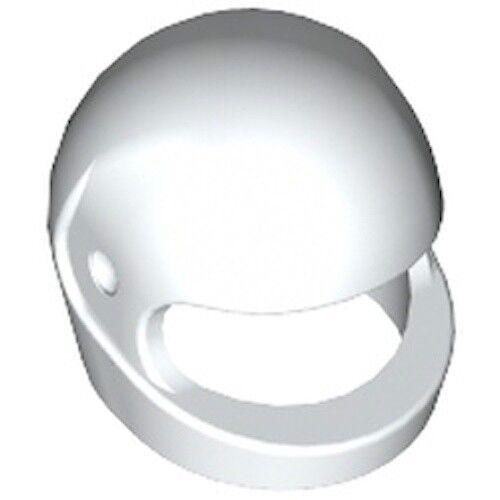 Lego Helmet w Trans Black Visor Motorcycle Crash Space Race Blue Black White Red