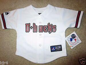 3795beca2c4 Image is loading Arizona-Diamondbacks-D-backs-MLB-Majestic-Jersey-Infant-
