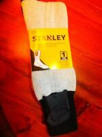 Stanley Electric Battery Operated Heated Thermal Socks 10-13 Hunting Fishing S5