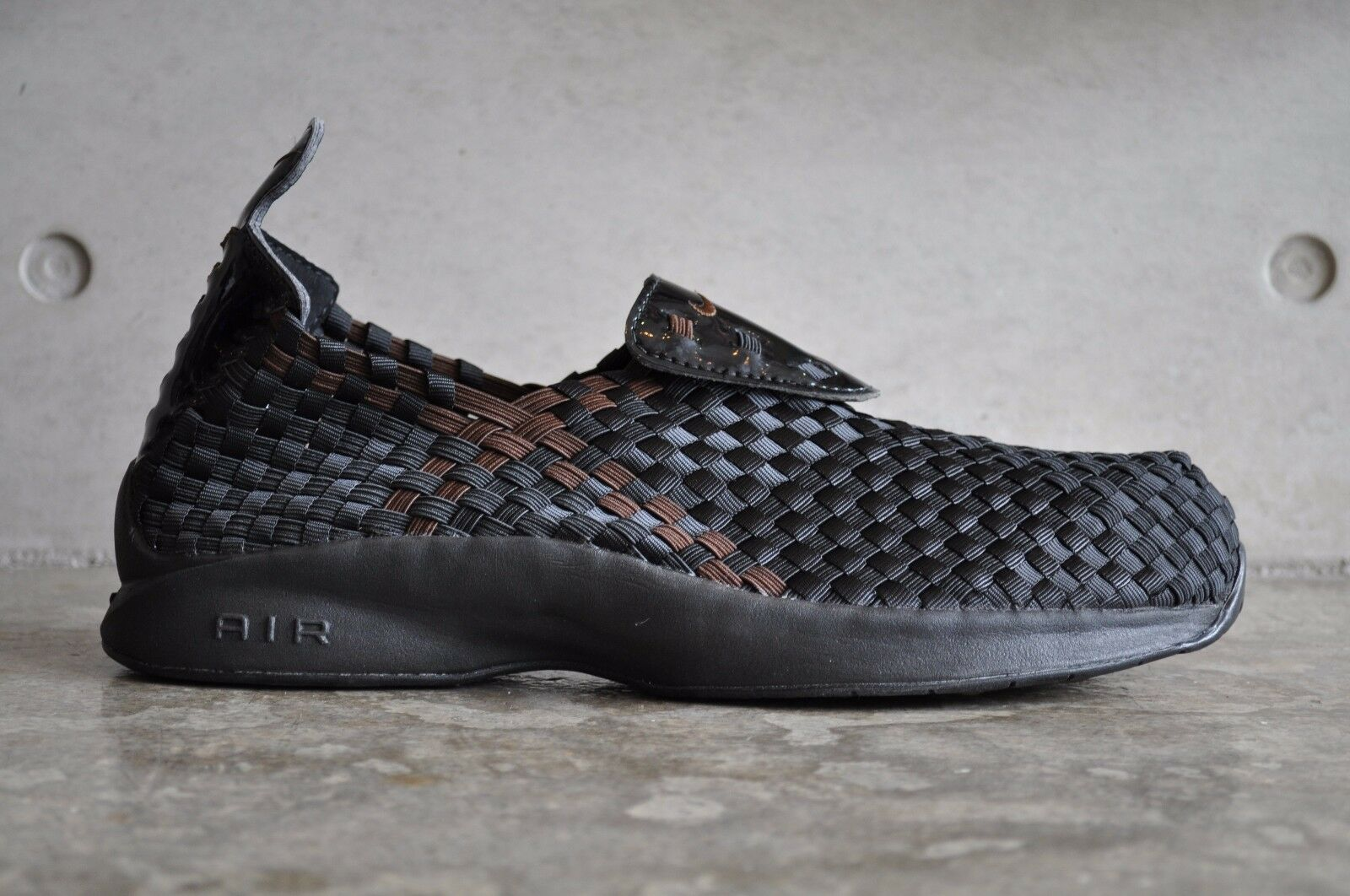 Nike Air Woven - Noir /Dk Mocha