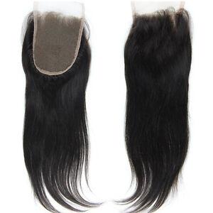 Lace-Top-Closure-100-Brazilian-Virgin-Remy-Human-Hair-4-034-x4-034-100-Human-Hair-Wig
