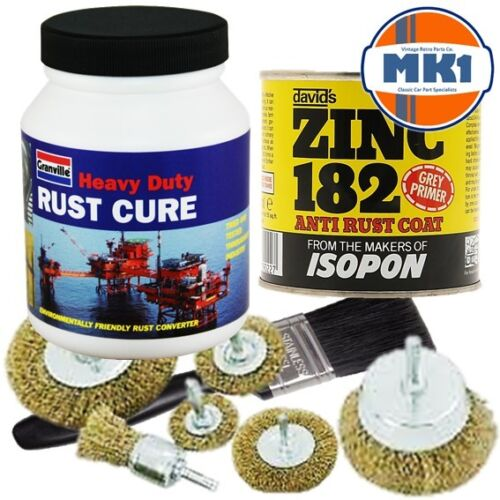 Volkswagen Beetle T2 T3 Chassis and Floorpan Rust Converter /&  Protection Kit