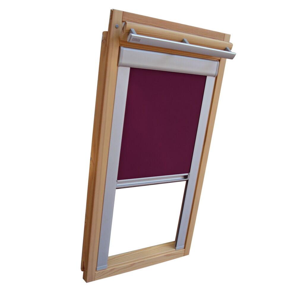 Dachfensterrollo Verdunkelungsrollo für Roto WDF 310 319 329 - lila | Neuankömmling