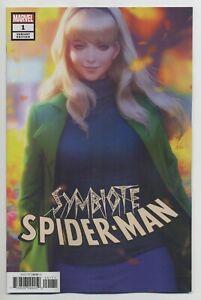 SYMBIOTE-SPIDER-MAN-1-Stanley-Artgerm-Lau-Variant-MARVEL-comics-NM-2019