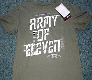 Under Armour Boys L//S Gray Flag Logo Top Size 5
