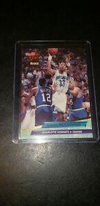 1992-93-Fleer-Ultra-Alonzo-Mourning-Rookie-RC-234-Charlotte-Hornets-HOF