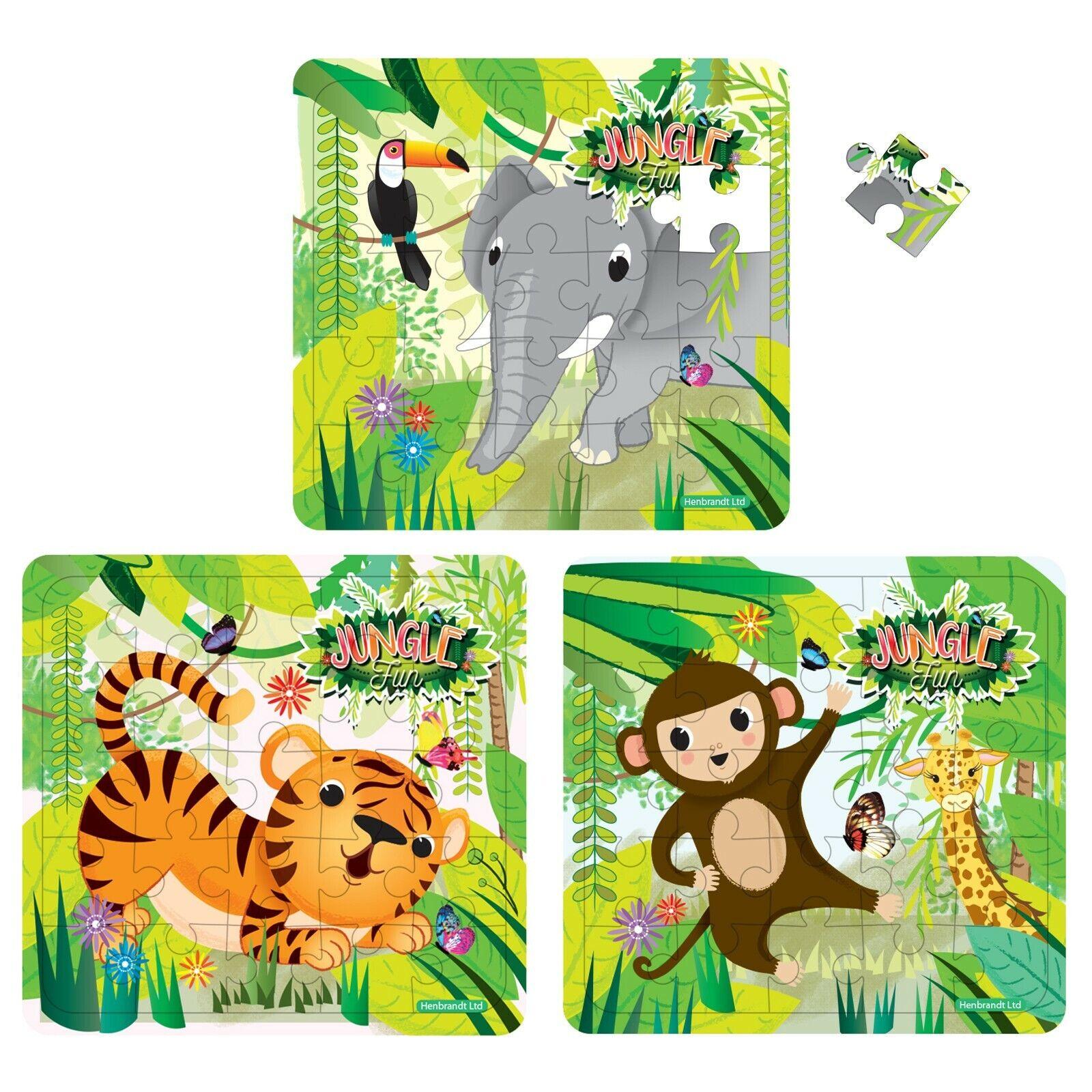 Jungle Animal Maze Puzzle Games Party Bag Filler