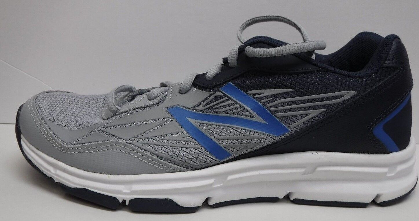 New Balance Size 8 Gray Sneakers New Mens Shoes