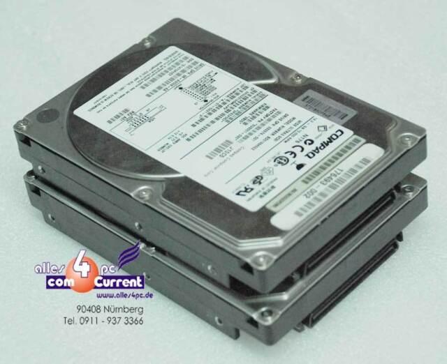 18GB Compaq HDD Hard Drive BD01864552 9U3001-030 232574-001 SCSI SCA #K1802