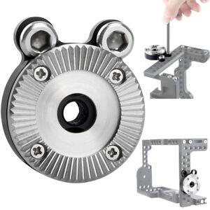 NICEYRIG-ARRI-Standard-Rosette-Mount-Adapter-for-Camera-Cage-Wooden-Handle-Rig