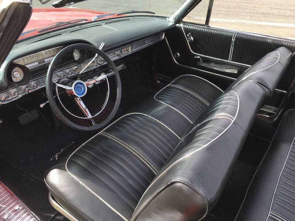 Ford Galaxie 5,7 V8 500 XL Cabriolet Benzin modelår 1964 km