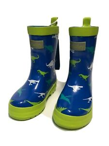 Hatley Boys Printed Rain Boots Raincoat Dinosaur Menagerie