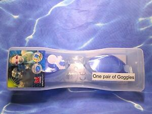 New with Box - Bestway Anti-Fog Swim Goggles with UV Protection (Blue )